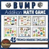 BUMP Math Addition Game Boards - 20 Designs