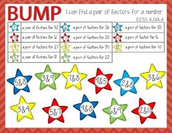 Factors BUMP GAME