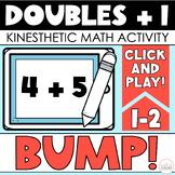 BUMP Math Game (Doubles Plus 1)