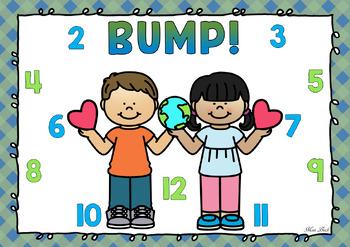 BUMP! Earth Day Theme Game Board