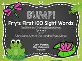 BUMP!  Fry's First 100 Words Ten Board Games!