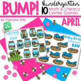 BUMP Games Monthly Math and Literacy Kindergarten    April