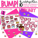 BUMP Games Monthly Math and Literacy Kindergarten    February