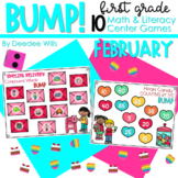 BUMP Games Monthly Math and Literacy First Grade   February