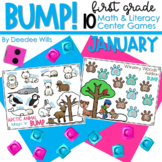 BUMP Games Monthly Math and Literacy First Grade   January