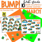BUMP Games Monthly Math and Literacy First Grade   March