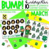 BUMP Games Monthly Math and Literacy Kindergarten   March