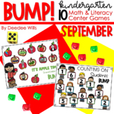 BUMP Games Monthly Math and Literacy September