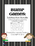 Fact Fluency BUMP Games by Strategy: Subtraction BUNDLE