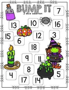Fall Math Game