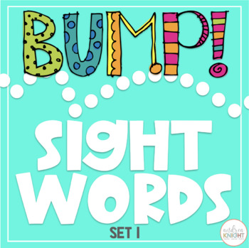 BUMP!  Let's Learn Words - Set 1