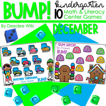 BUMP Games Monthly Math and Literacy DECEMBER