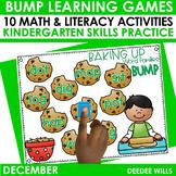 BUMP Games Monthly Math and Literacy Kindergarten   DECEMBER