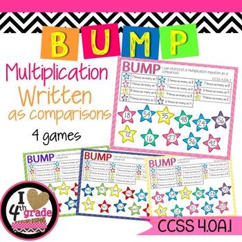 Multiplicative Comparison Equations