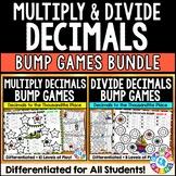 Multiplying and Dividing Decimals Games Bundle {5.NBT.7, 6.NS.3}