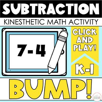 BUMP!  Subtraction Facts  {2 Sets}