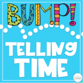 BUMP Math Game (Telling Time to the Hour and Half Hour)