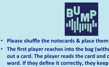 BUMP - Vocabulary Review