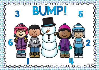 BUMP! Winter Themed Game Board