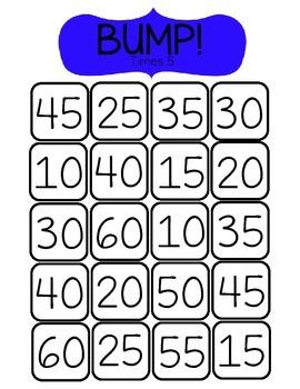 BUMP! Times 5-Math Game