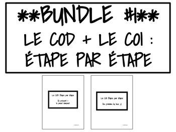 BUNDLE #1 : LE COD + LE COI : ÉTAPE PAR ÉTAPE