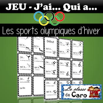 BUNDLE #1 - PAQUET #1 LES JEUX OLYMPIQUES D'HIVER (FRENCH FSL)
