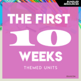 Preschool Curriculum BUNDLE 1 The First 10 Weeks