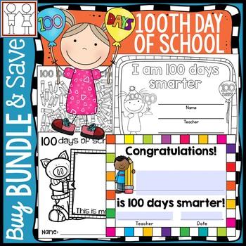 BUNDLE: 100th Day of School Activities