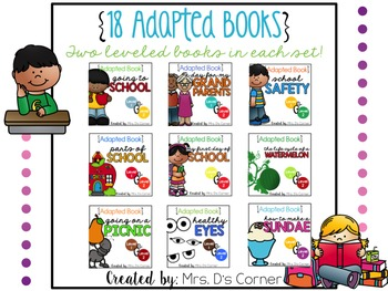 18 Adapted Books for August ( Level 1 and Level 2 )
