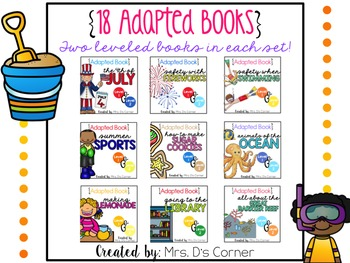 18 Adapted Books for July ( Level 1 and Level 2 )
