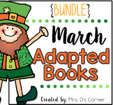 March Adapted Books [Level 1 and Level 2] | Digital + Prin