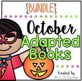October Adapted Books [Level 1 and Level 2] | Digital + Pr
