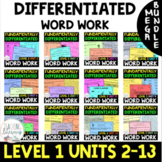 BUNDLE- 1st Grade FUNdamentally Differentiated Word Work A