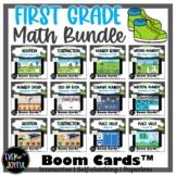 BUNDLE: 1st Grade Math Sports-Themed Boom Cards™