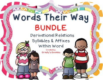 {BUNDLE #2} Derivational Relations, Syllables & Affixes, Within Word