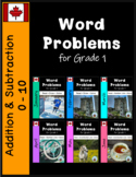 BUNDLE #2: Grade 1 - Word Problems