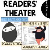 Readers' Theater Scripts Three Ninja Pigs and Ninja Chicks BUNDLE