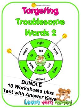 BUNDLE 2 – U.K. English Targeting Troublesome Words