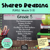 BUNDLE 2 of Grade 5 Shared Reading Texts and Lessons