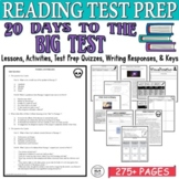 Standardized Test Prep 20 Days Reading Comprehension Passages and Questions