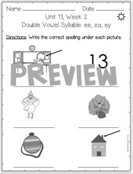 BUNDLE- 2nd Grade FUNDATIONally Differentiated Word Work Activities - UNITS 7-12