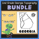 BUNDLE: 2nd Grade Georgia Topography