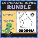 Digital Learning BUNDLE: Georgia Regions and Rivers