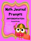 BUNDLE 2nd Grade Math Journals - Operations & Algebraic Thinking