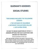 BUNDLE #3 COLUMBUS, EXPLORERS, NEW SPAIN
