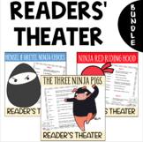 BUNDLE - 3 Readers' Theater Scripts: Ninja Pigs, Red Ridin