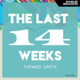 Preschool Curriculum BUNDLE 3 The Last 14 Weeks