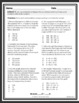 BUNDLE 3rd & 4th Grade NWEA MAP Practice Questions [RIT 192-213]