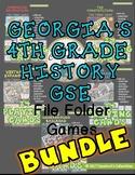 BUNDLE: 4th Grade History GSE File Folder Games