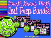 BUNDLE! 4th Grade Math Test Prep Task Cards